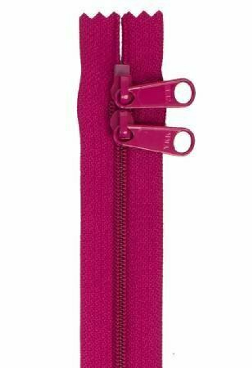 Handbag Zipper 30in - Wild Plum