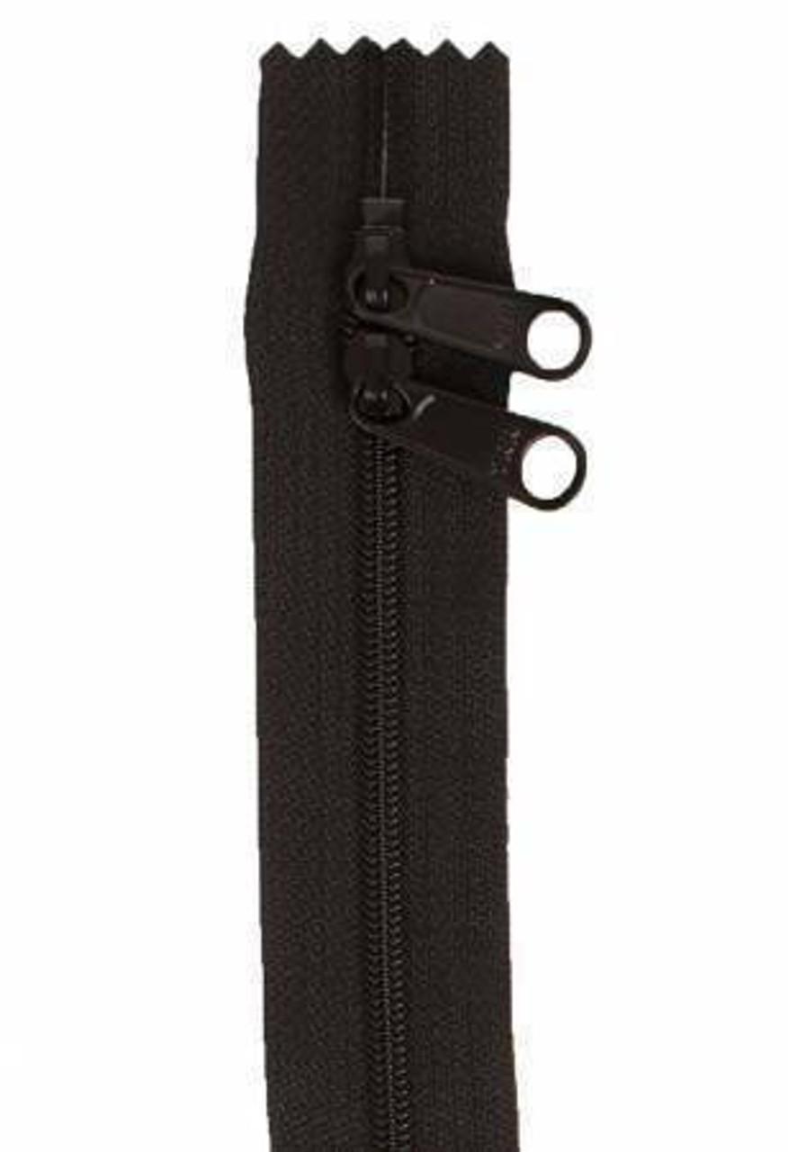 Handbag Zipper 30in Black