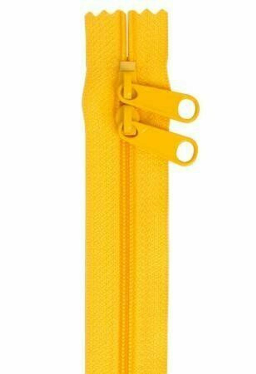 Handbag Zipper 30in Buttercup