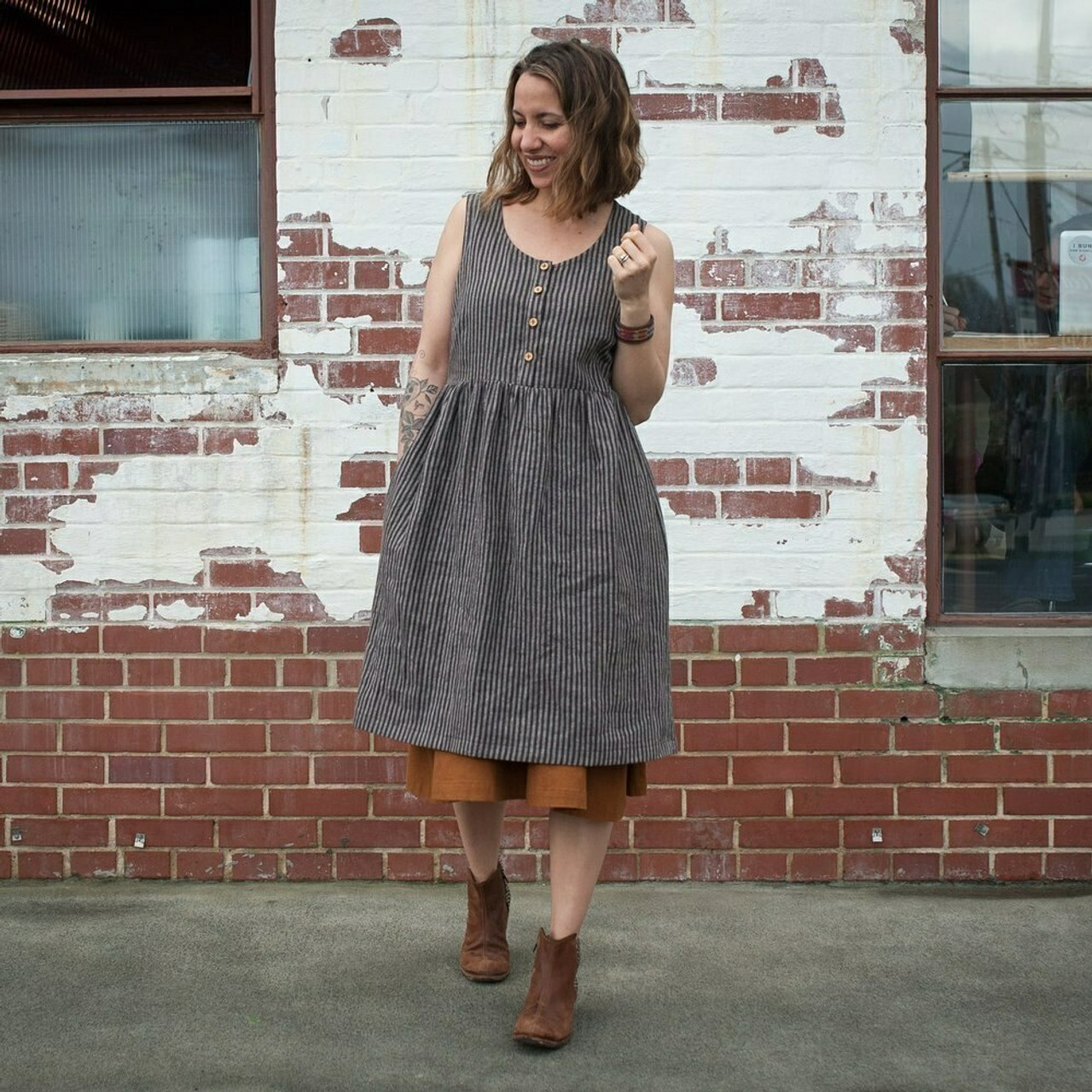 Sew Liberated : Hinterland Dress