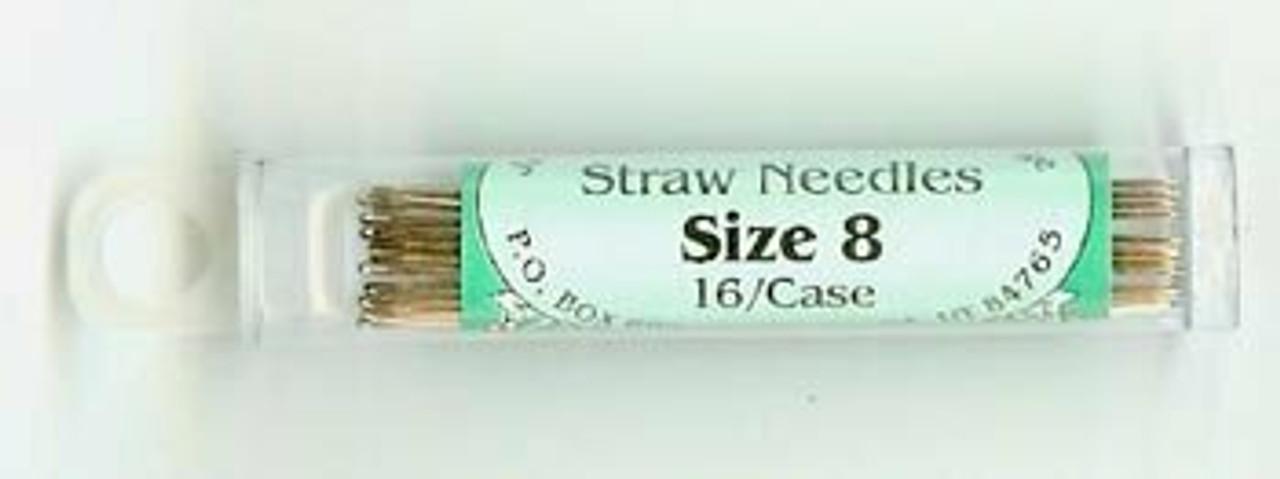 Jeana Kimball Straw Needles - Size 8