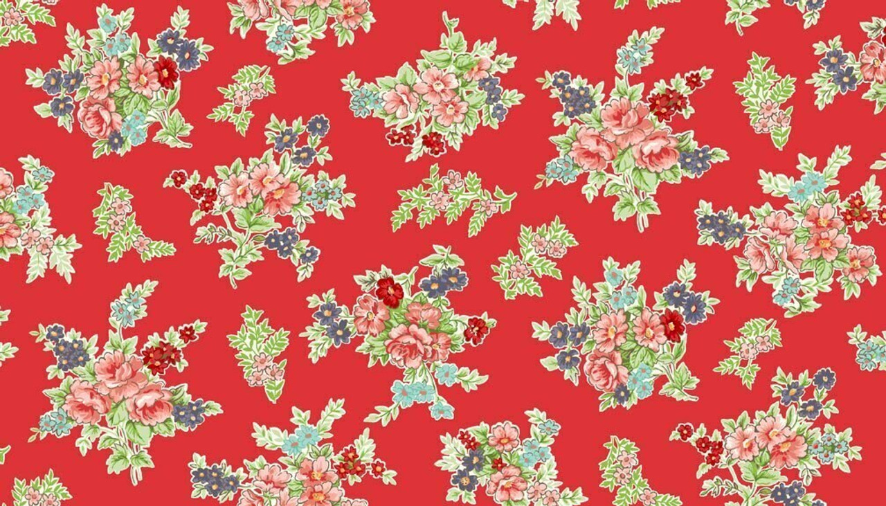 Katie Jane: Bouquet - Red