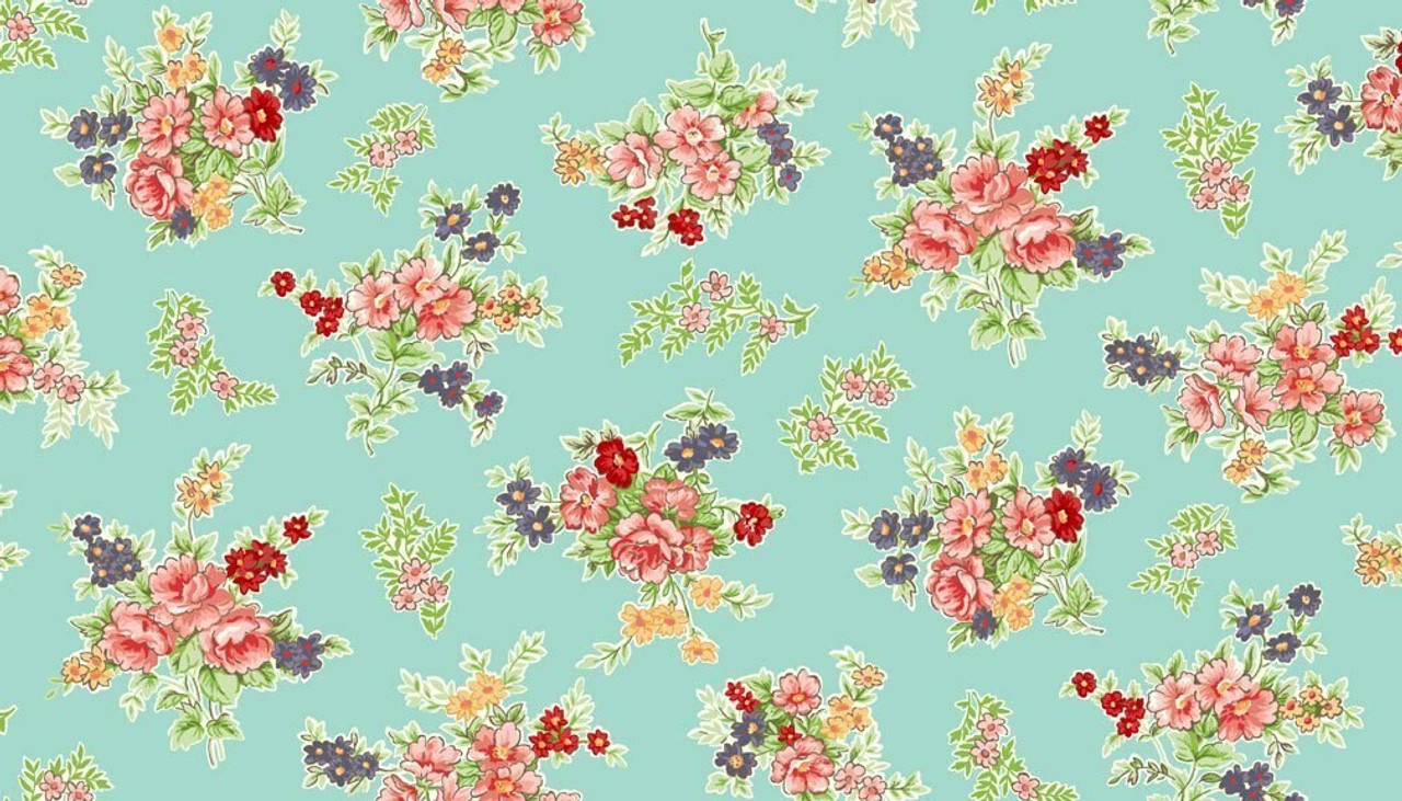 Katie Jane: Bouquet - Turquoise
