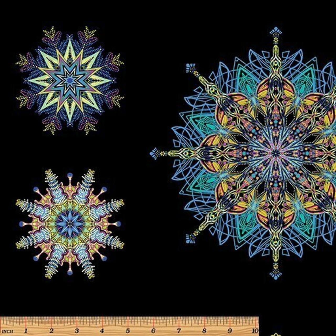 Kismet by Paula Nandelstern: Mandalas - blue multi