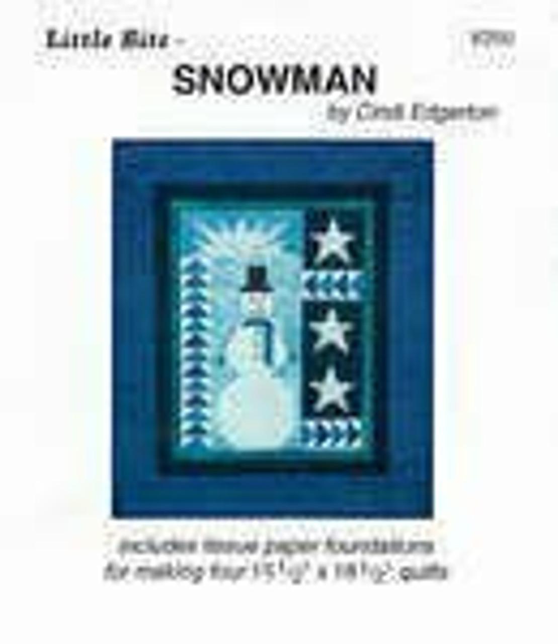 Little Bits Snowman