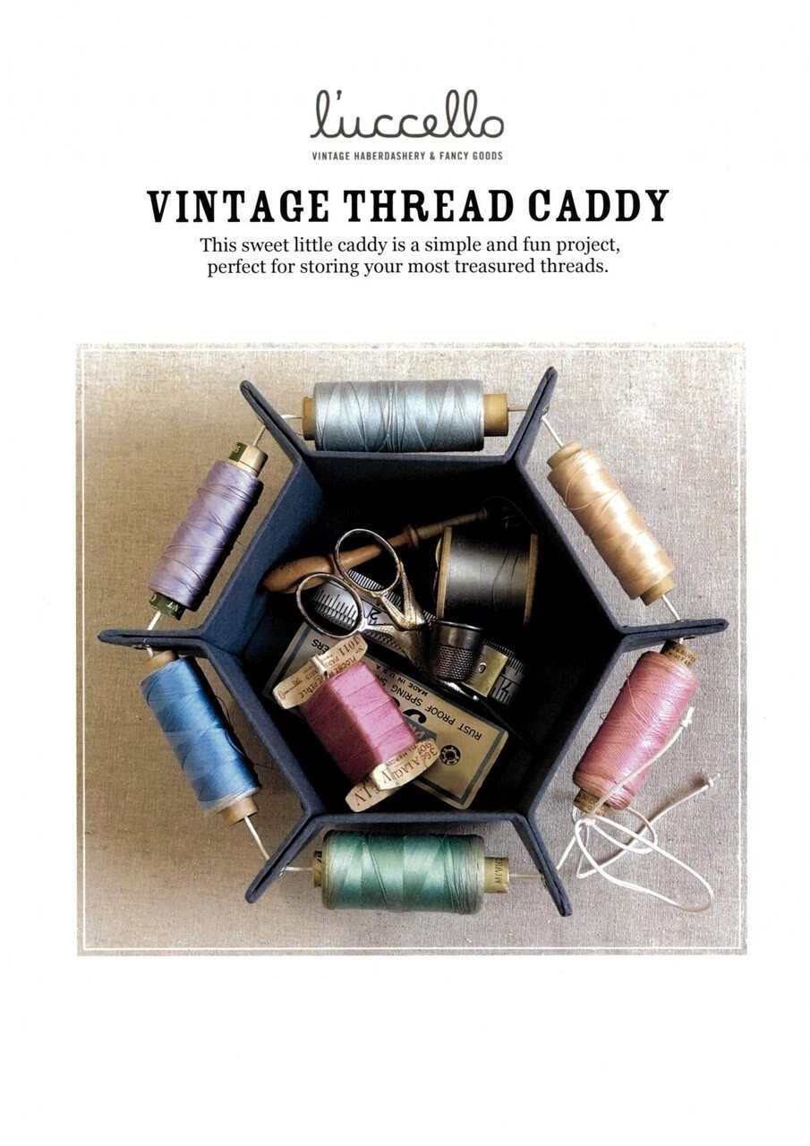 Luchello Vintage Thread Caddy