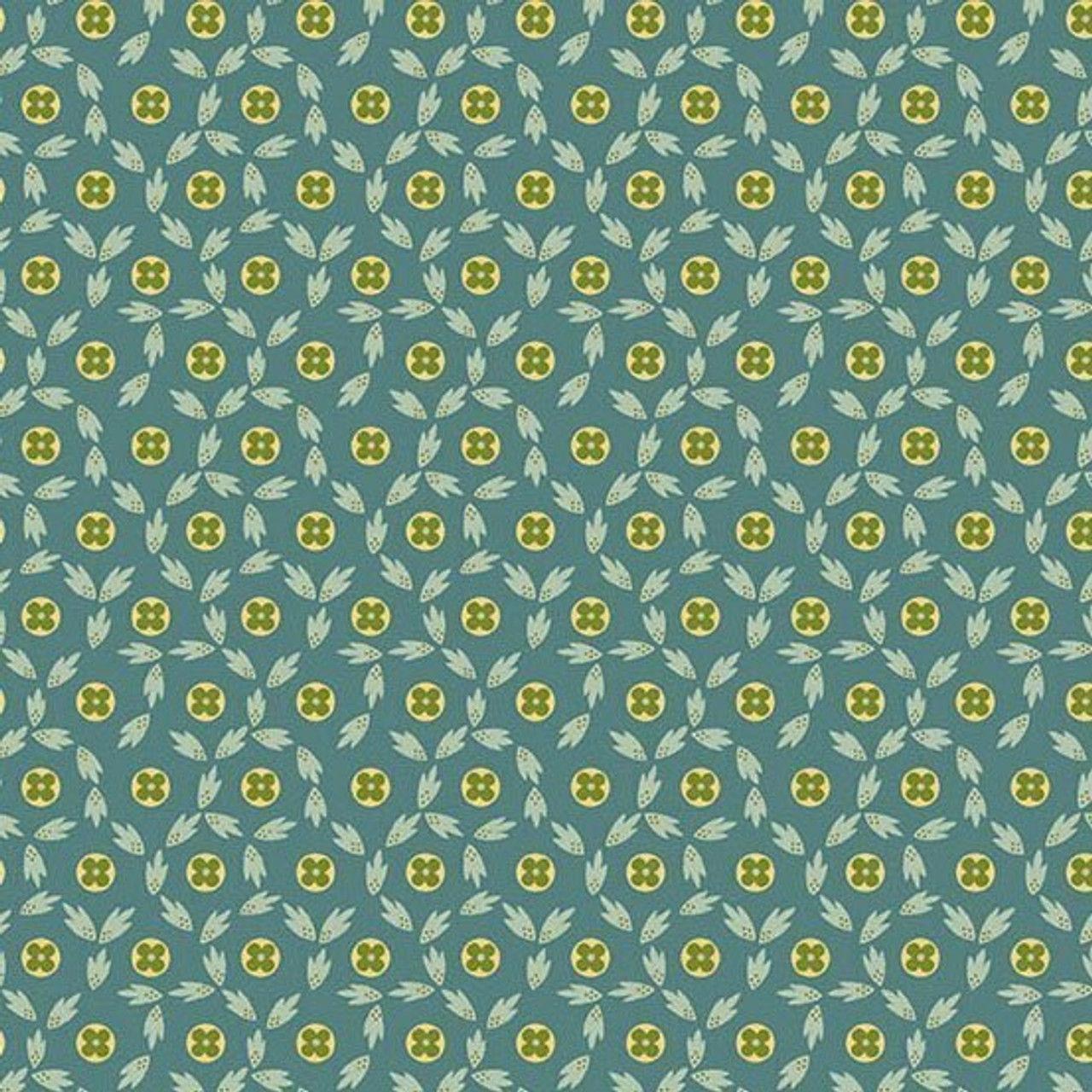 Maling Road: Button Flowers - Blue