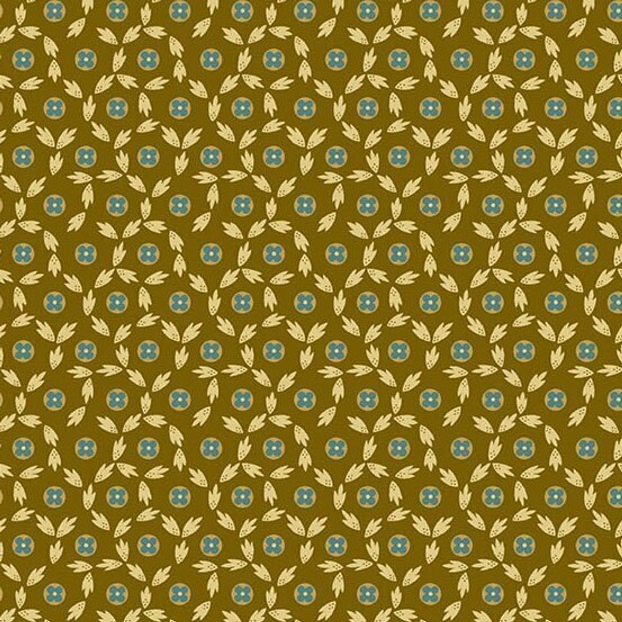 Maling Road: Button Flowers - Brown