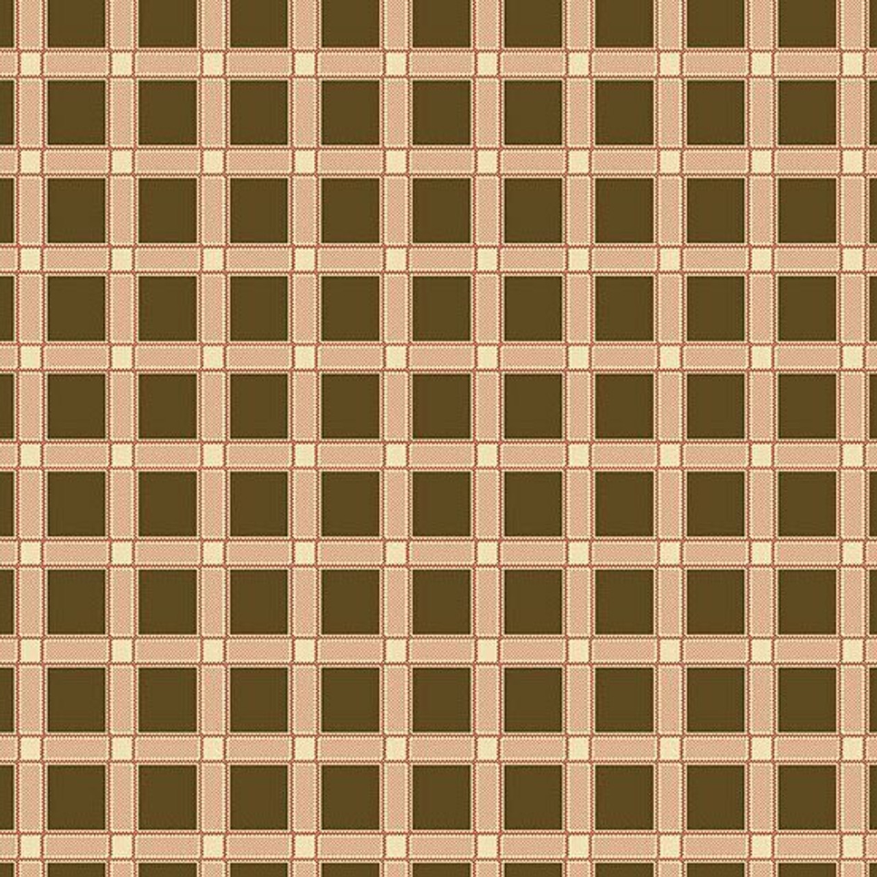 Maling Road: Canterbury Plaid - Brown