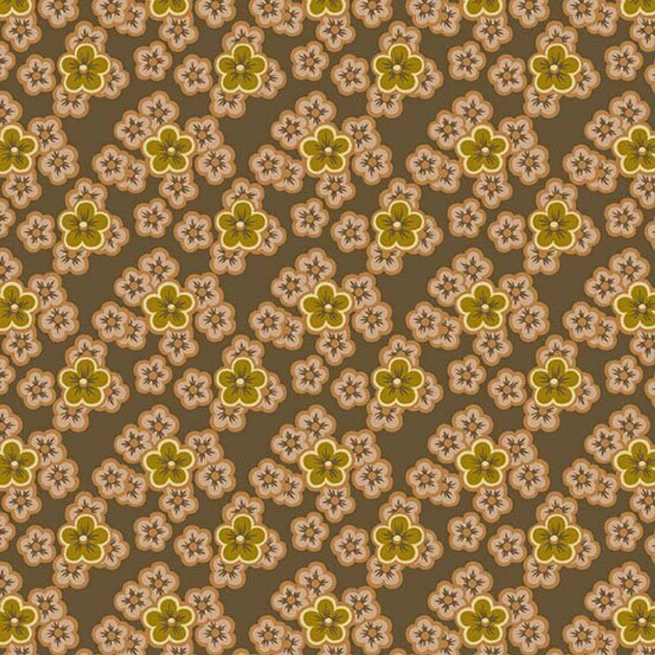 Maling Road: Flower Patches - Brown