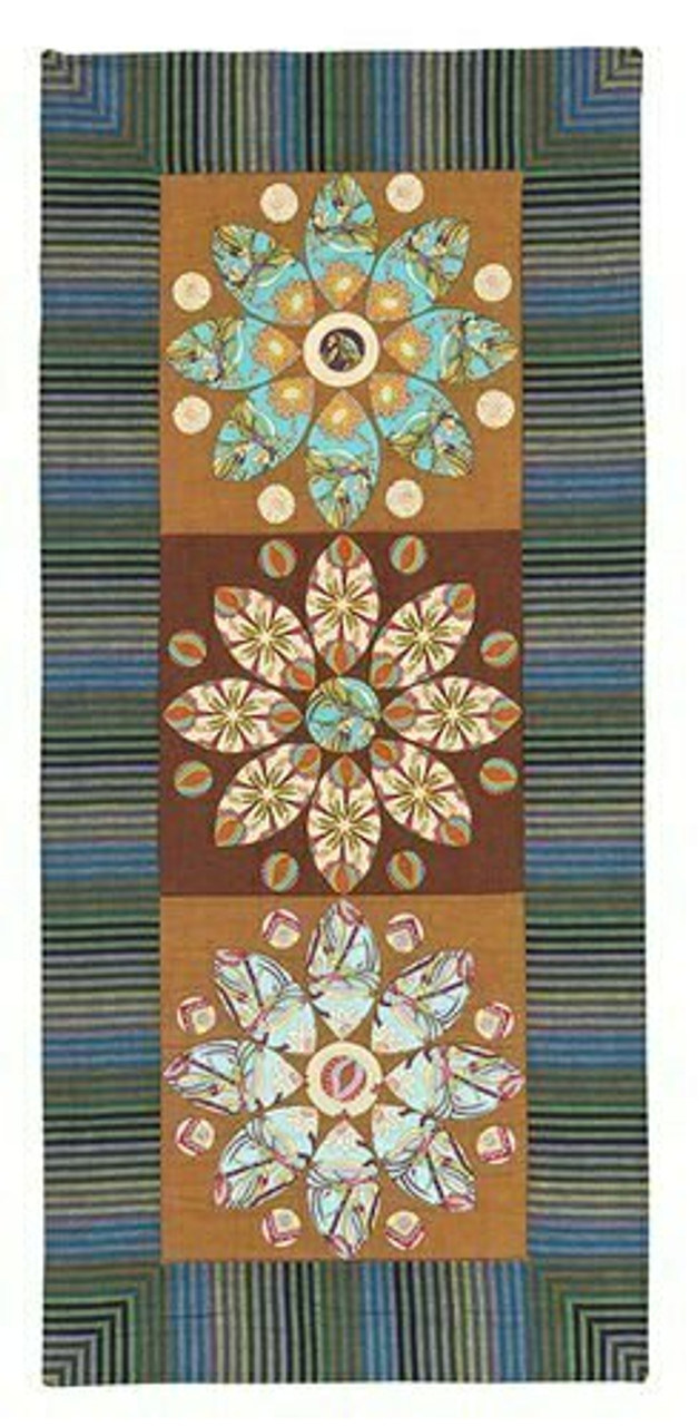 Mini Mandala Table Runner Pattern from Material Obsession