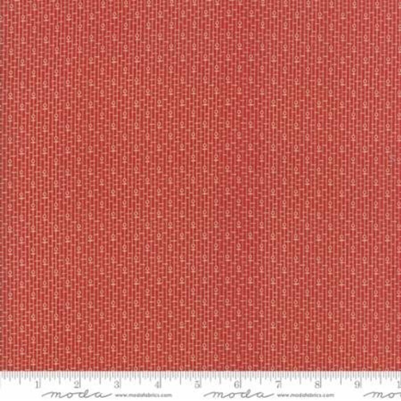 Moda : New Hope Dot Dash - Red