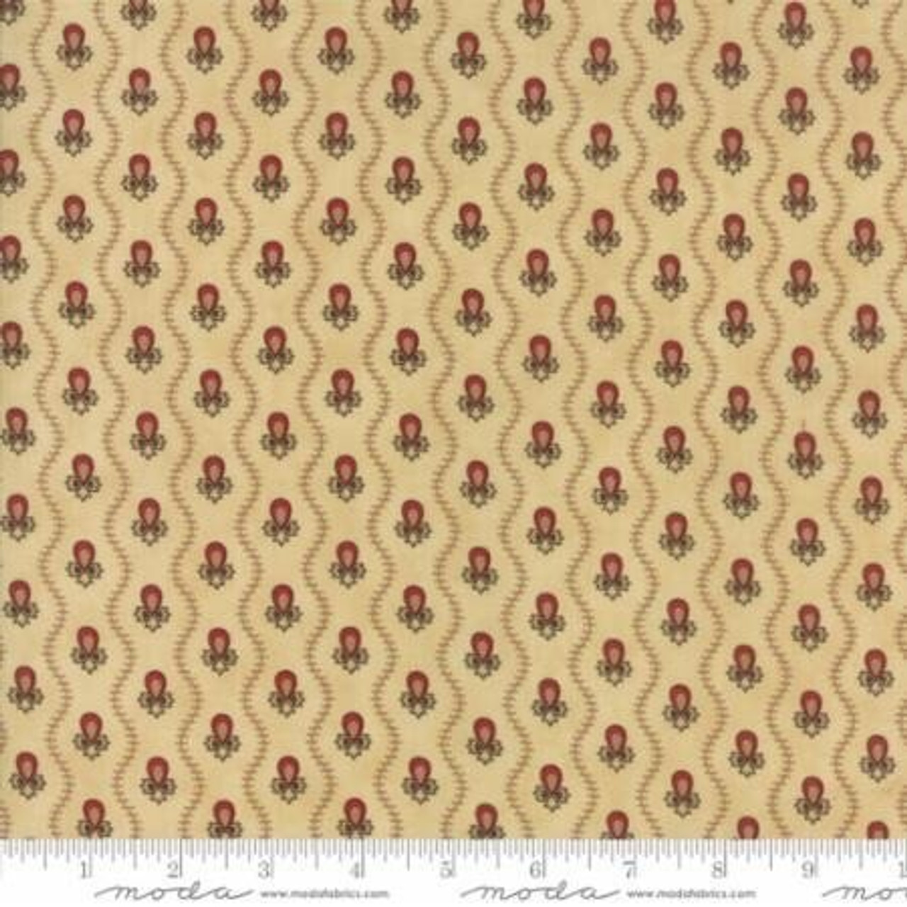 Moda : New Hope Wavey Stripe - Cream