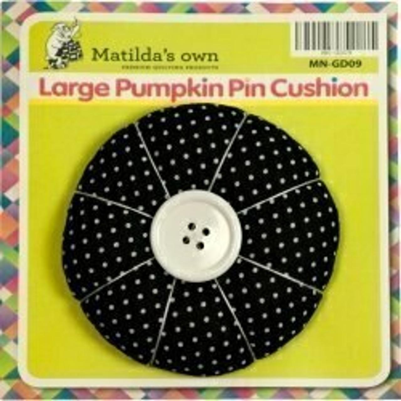 Pumpkin Pin Cushion - Large