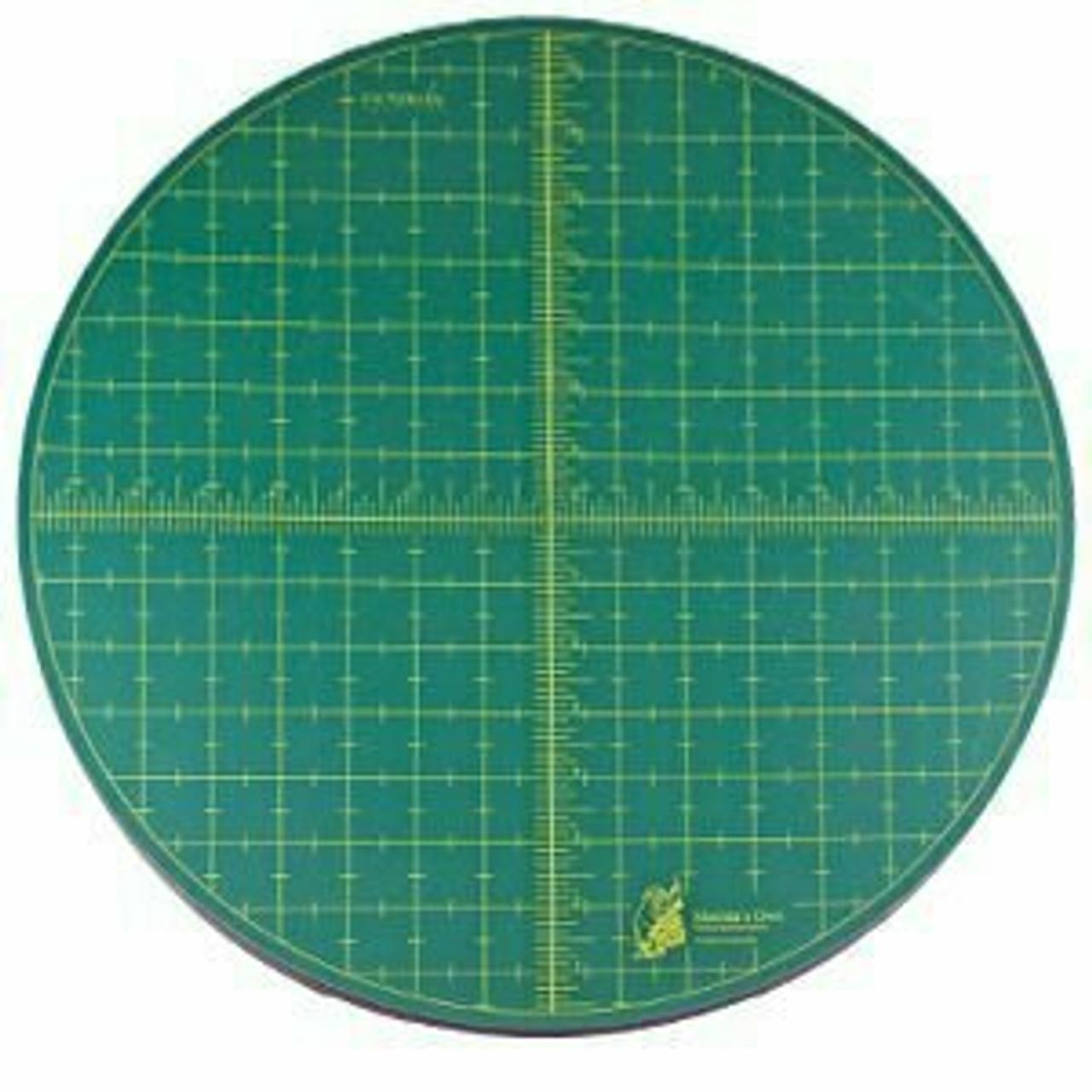 "Rotating Cutting Mat 15"" Diameter"