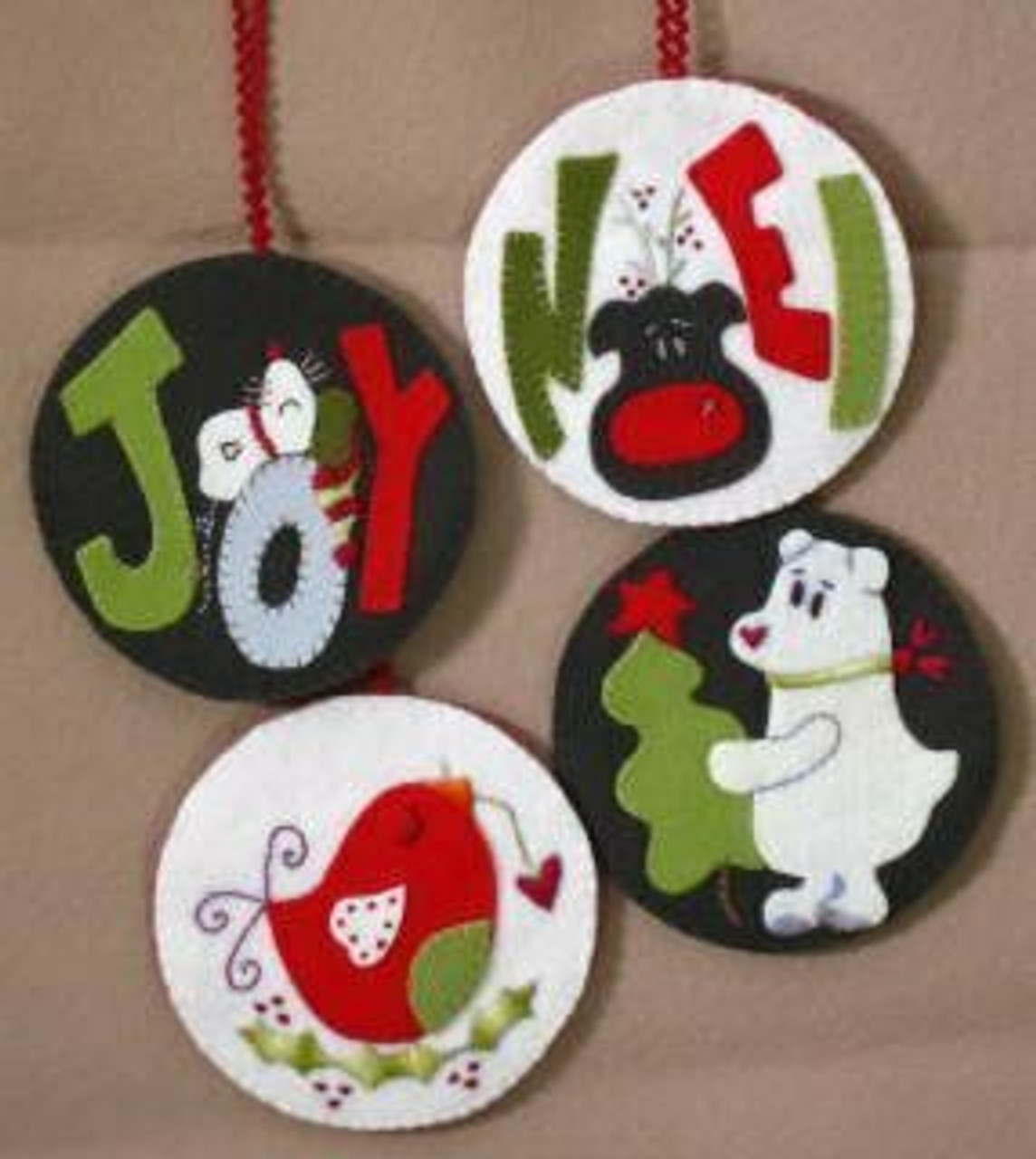Snowball Ornaments