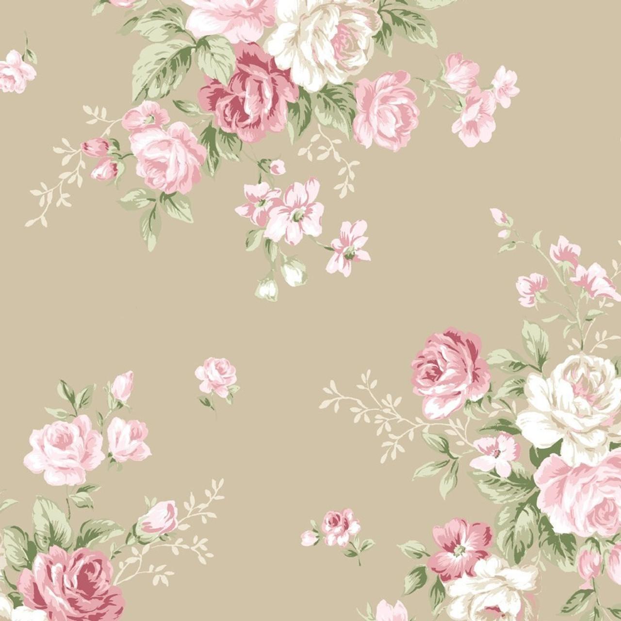 Stof Vintage Roses / 4500 517