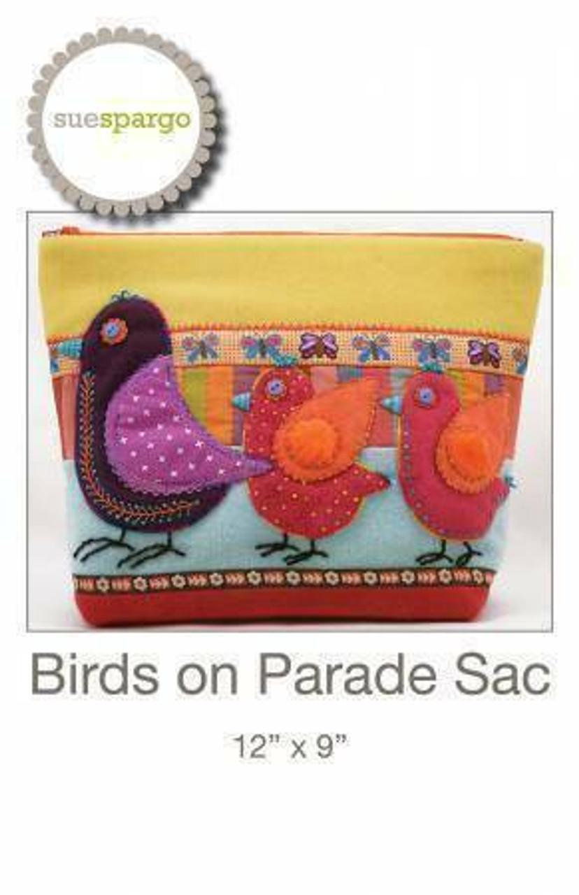 Sue Spargo : Birds on Parade Pattern