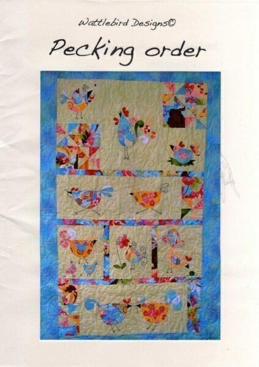 Veronique's Quilt Designs: Pecking Order