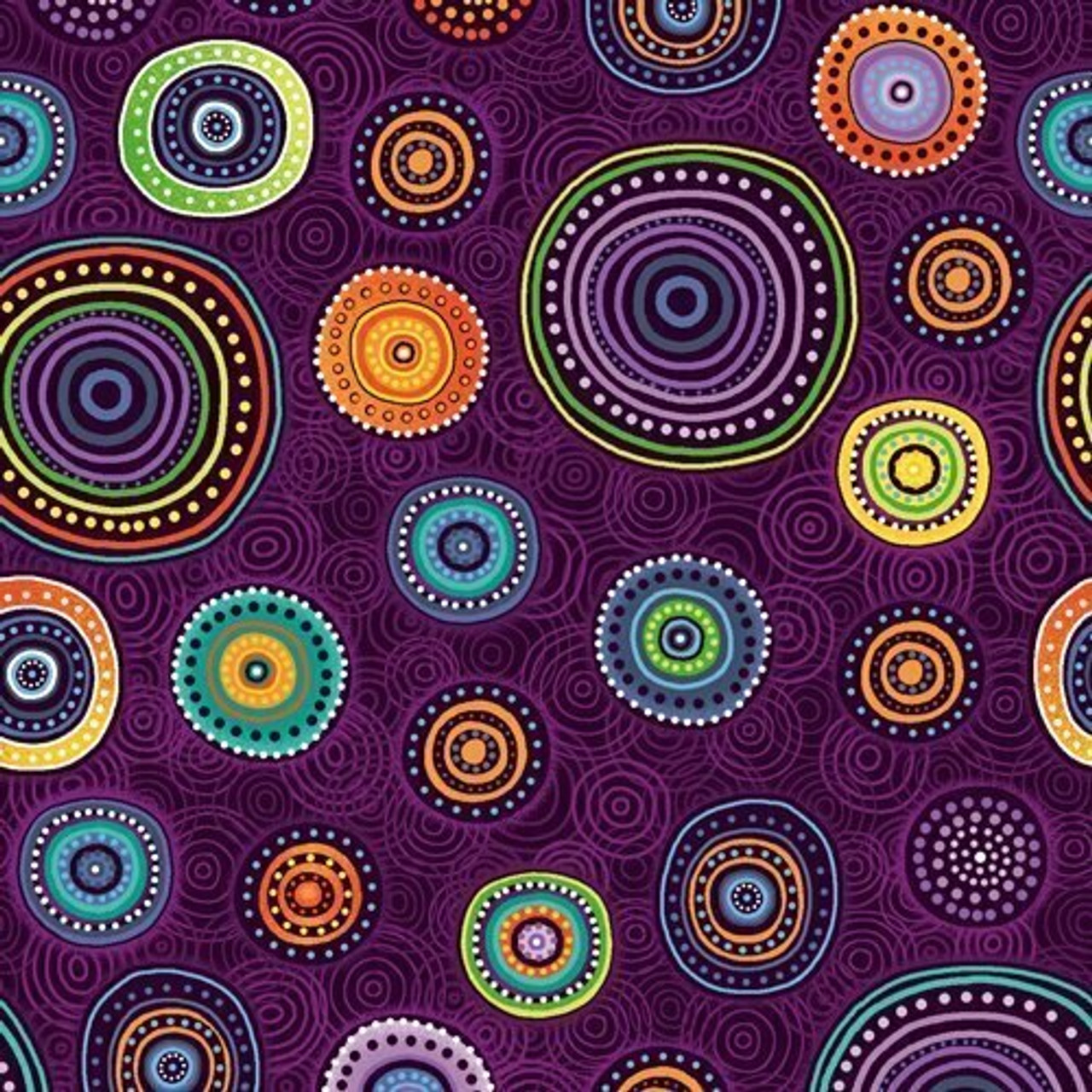 Walkabout 2: Medallions - Purple