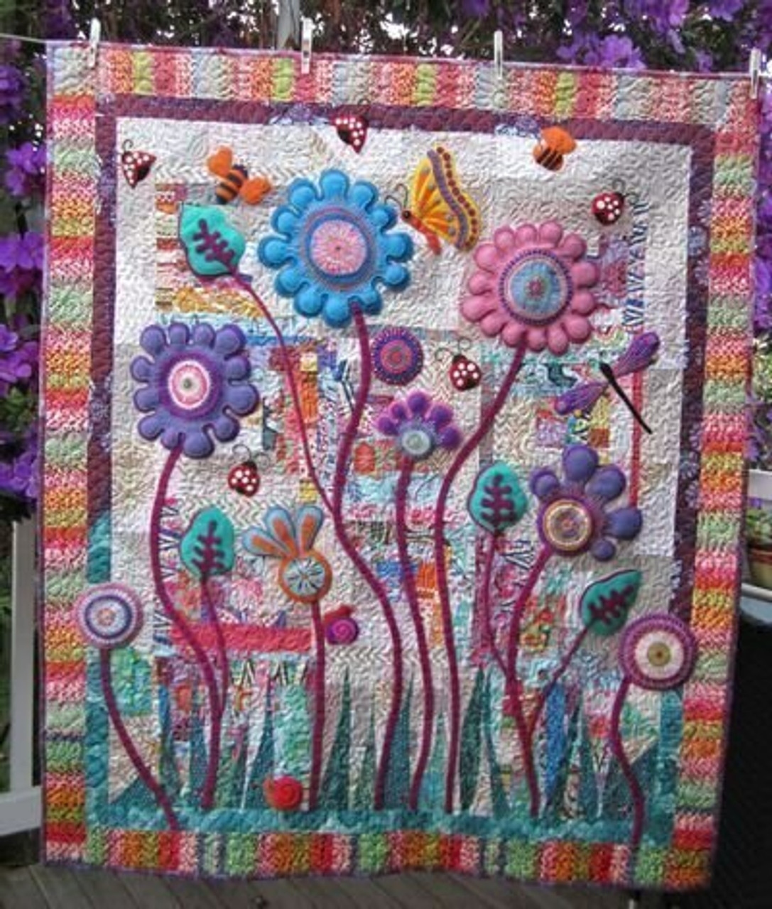 Wendy Williams : Baby Blooms - Quilt Pattern