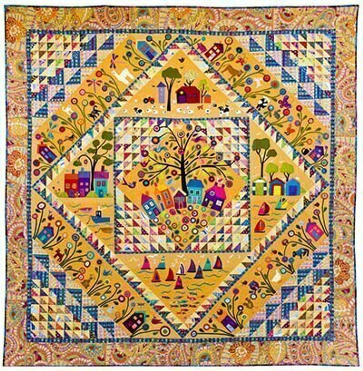 Wendy Williams : My Place or Yours - Quilt Pattern