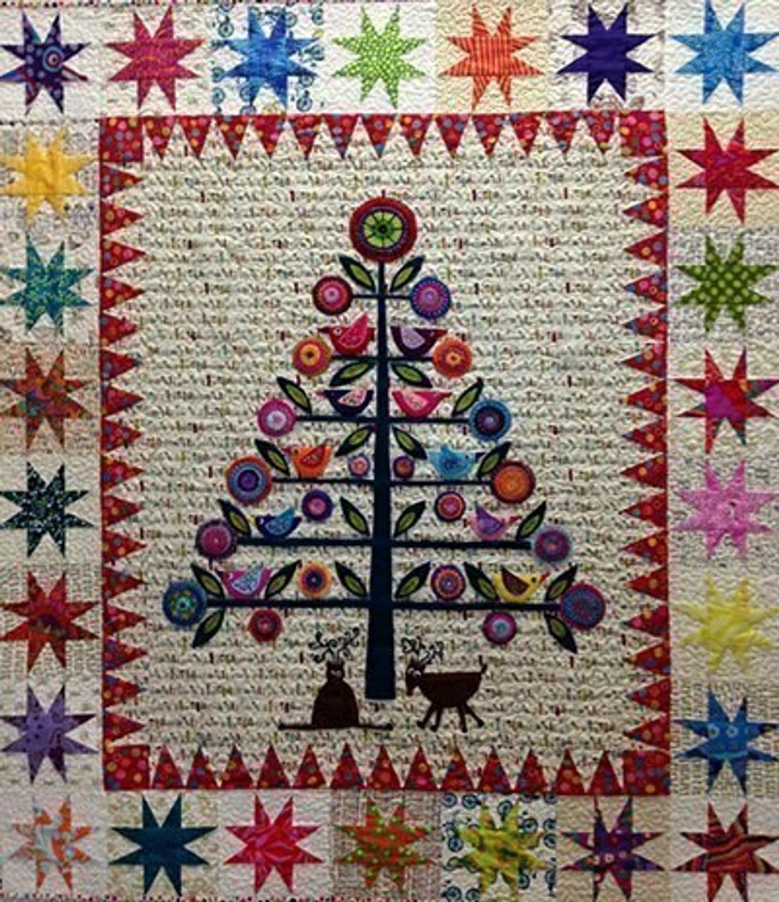 Wendy Williams : Oh Christmas Tree - Wool Felt Kit