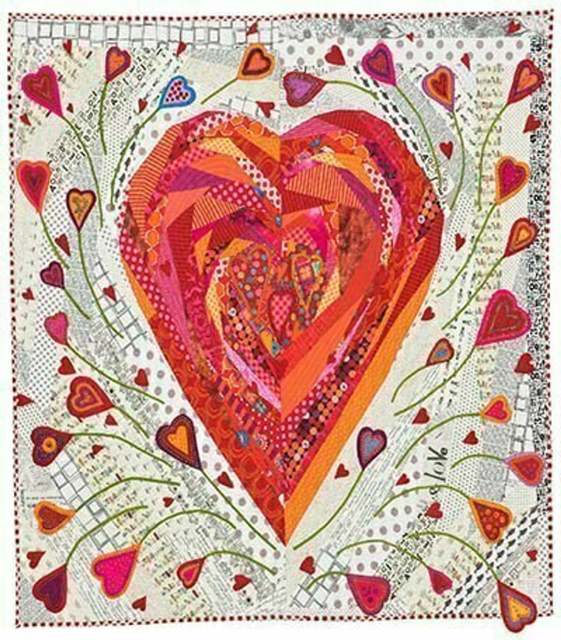 Wendy Williams : Pieces of my Heart - Quilt Pattern