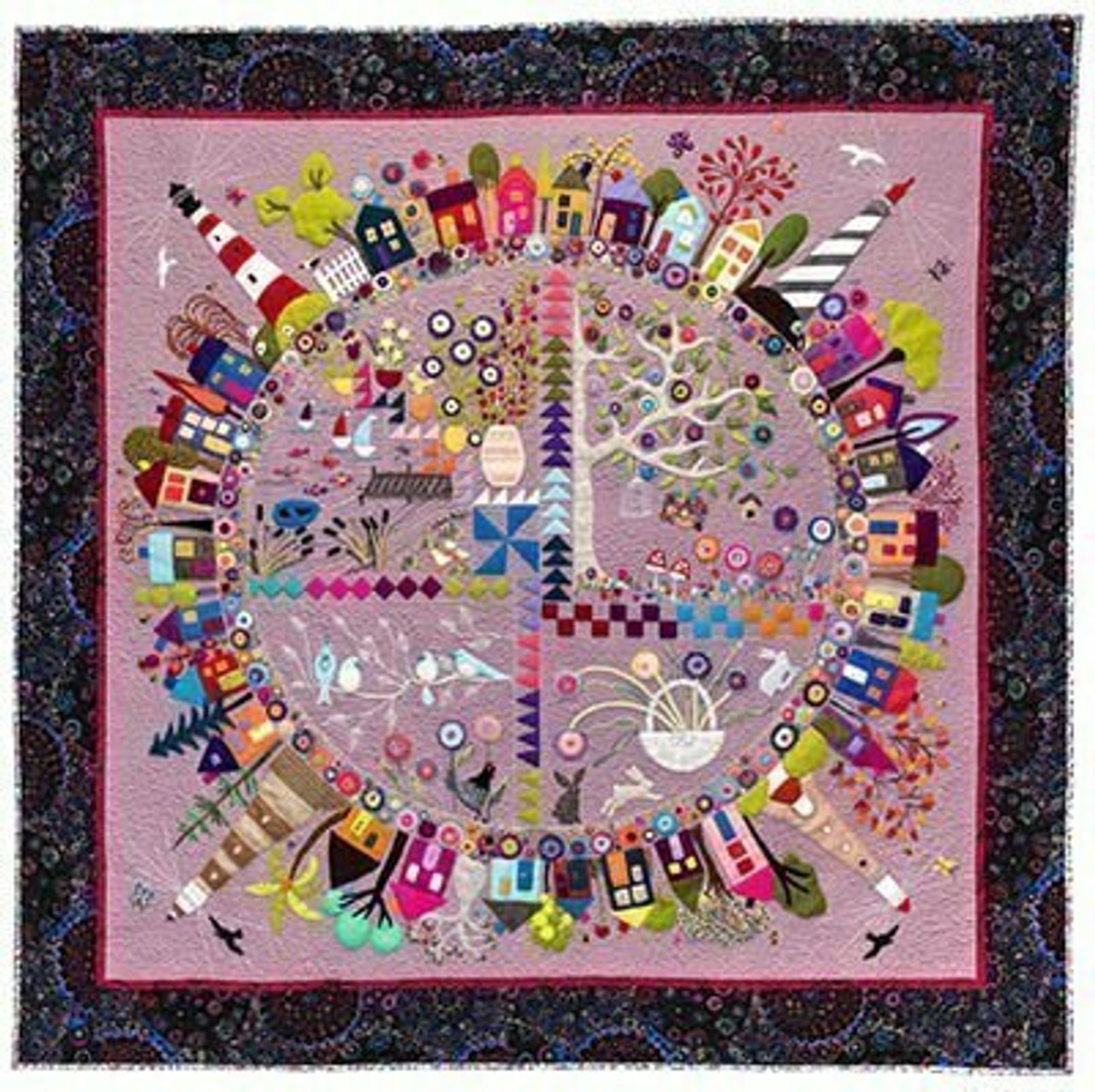 Wendy Williams : Round the Garden - Quilt Pattern