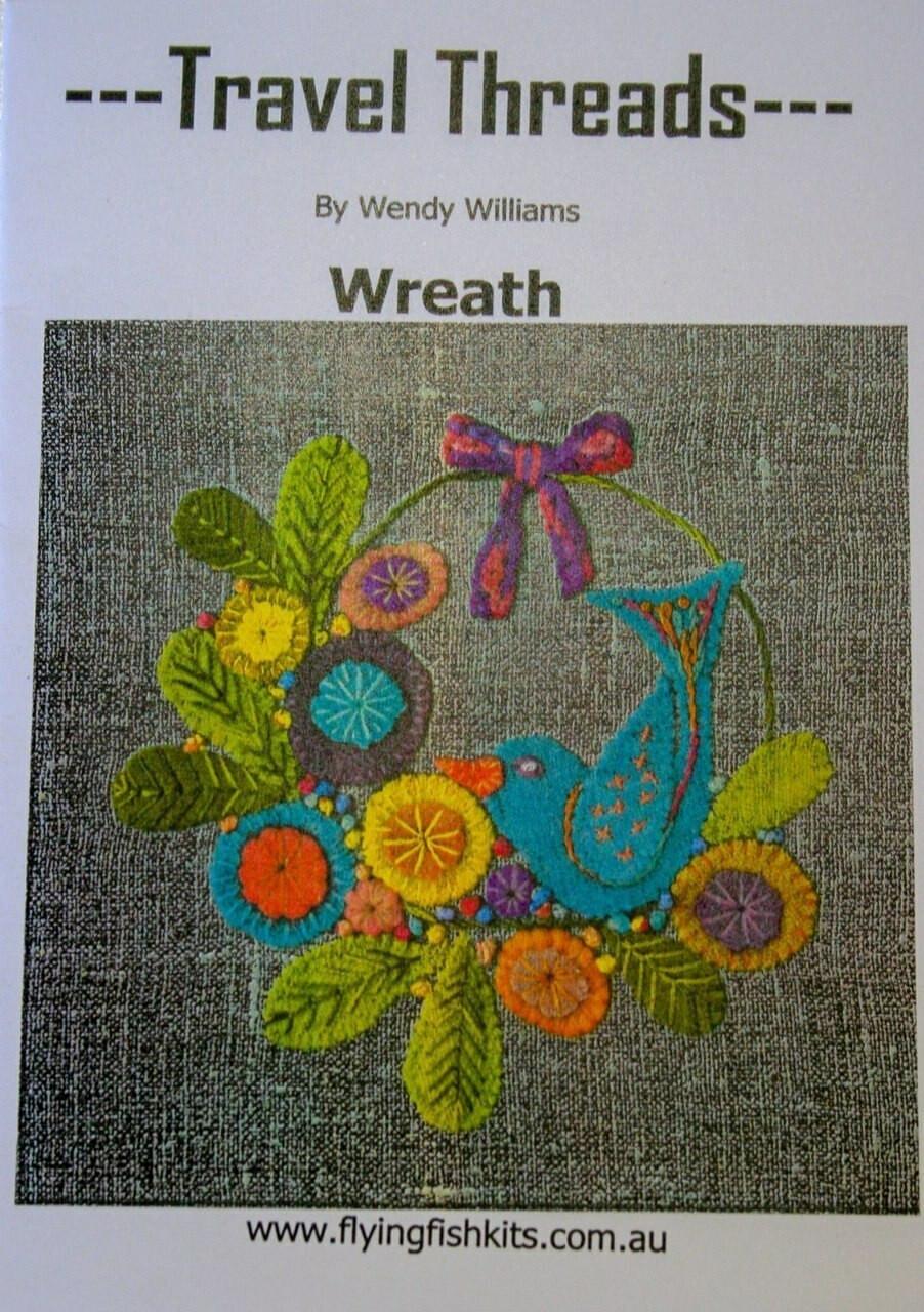 Wendy Williams : Travel Threads - Wreath