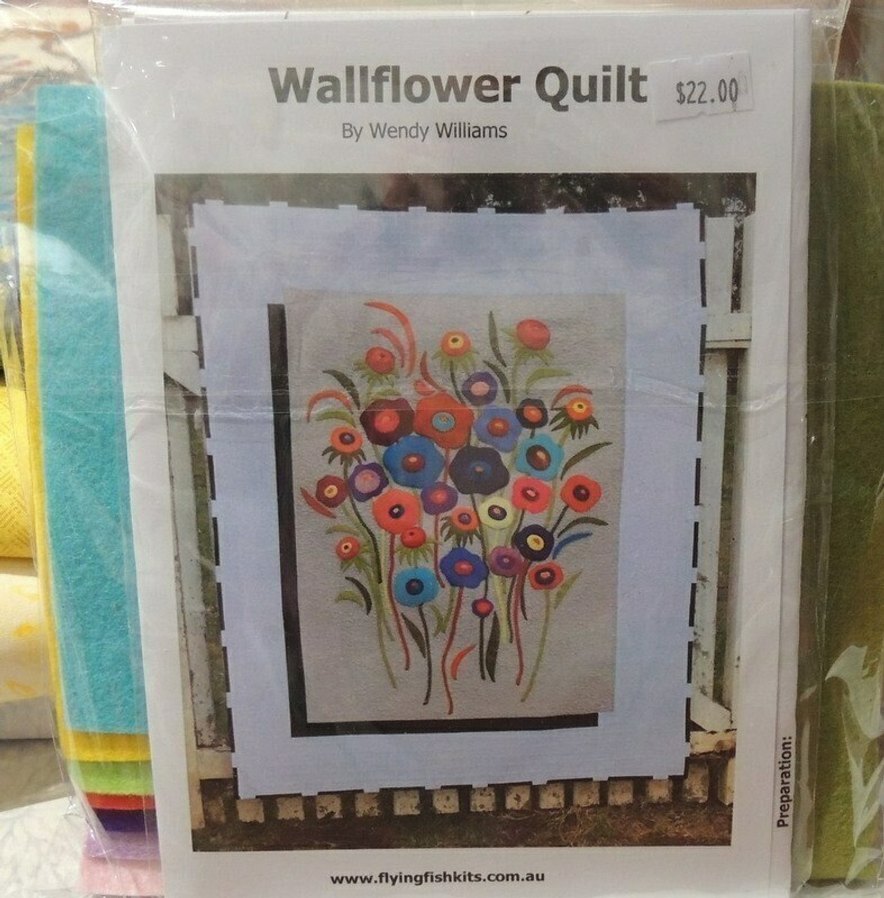 Wendy Williams : Wallflower Quilt - Wool Felt Kit