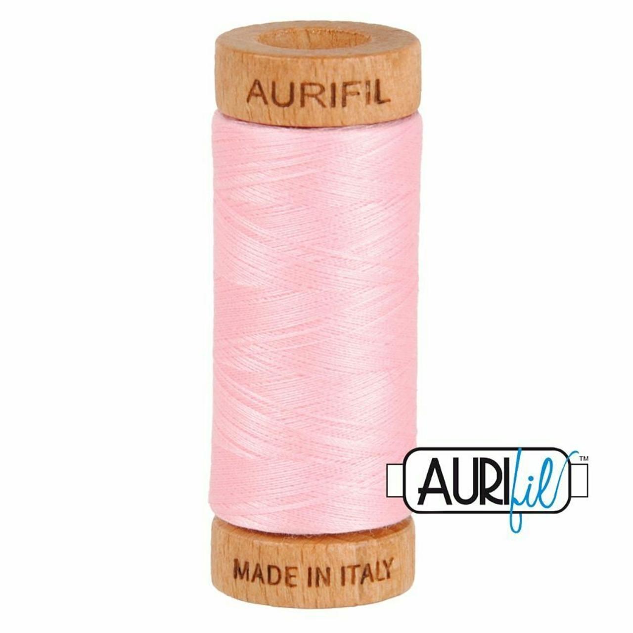 Aurifil 80wt Baby Pink (2423) thread