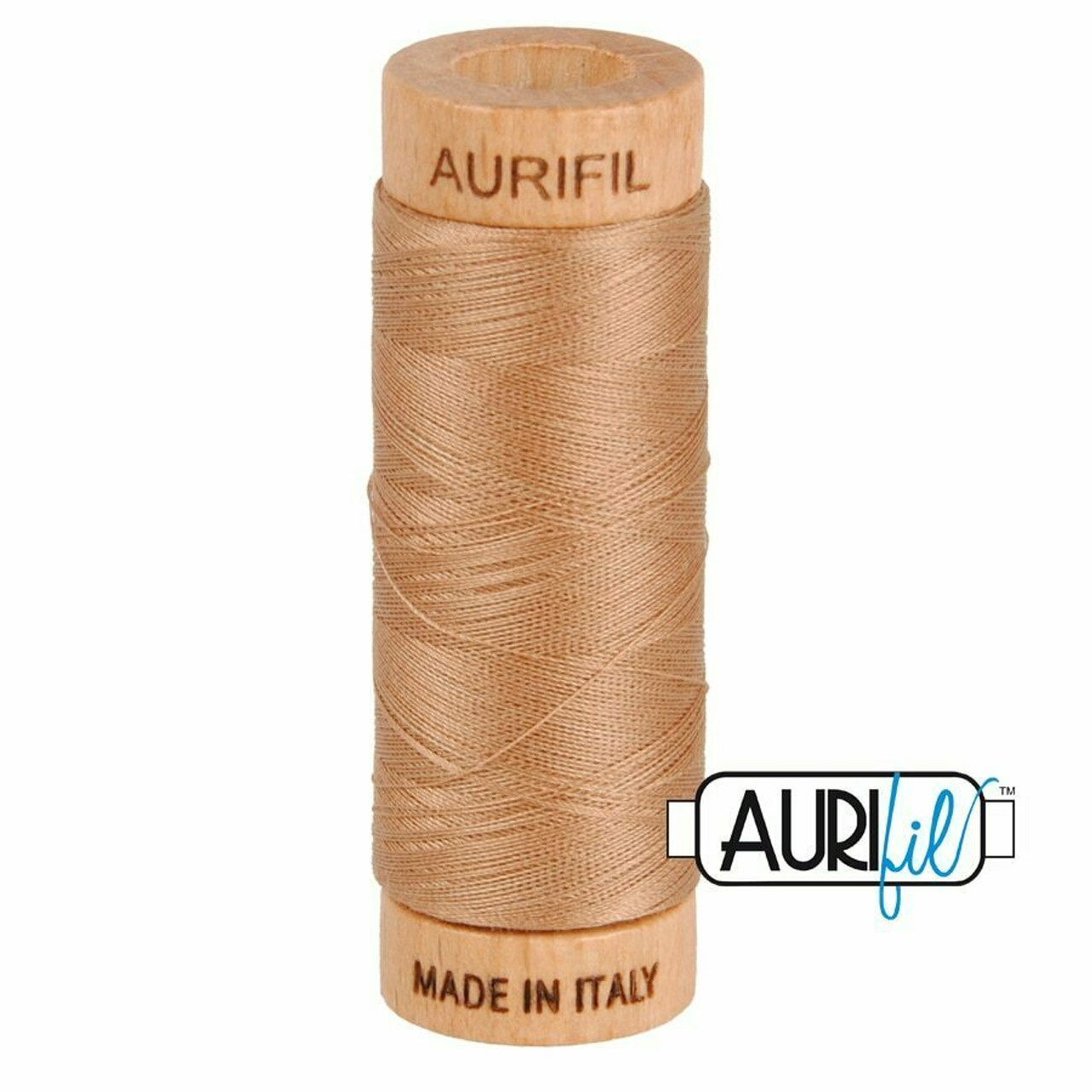 Aurifil 80wt Cafe' au Lait (2340) thread