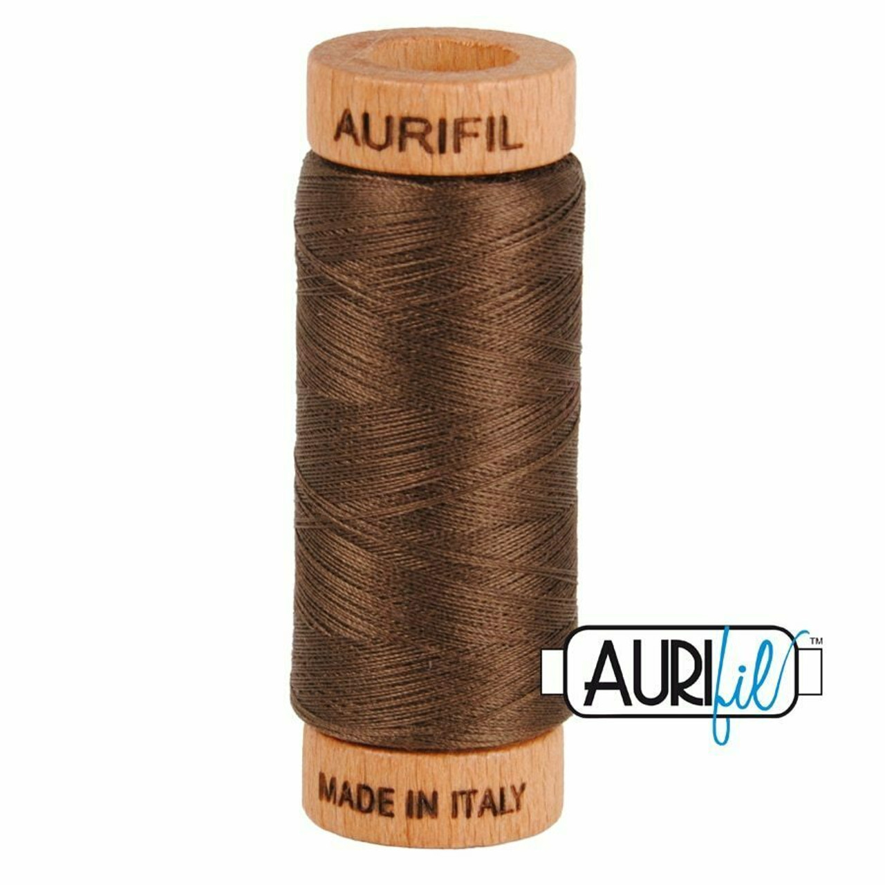 Aurifil 80wt Bark (1140) thread
