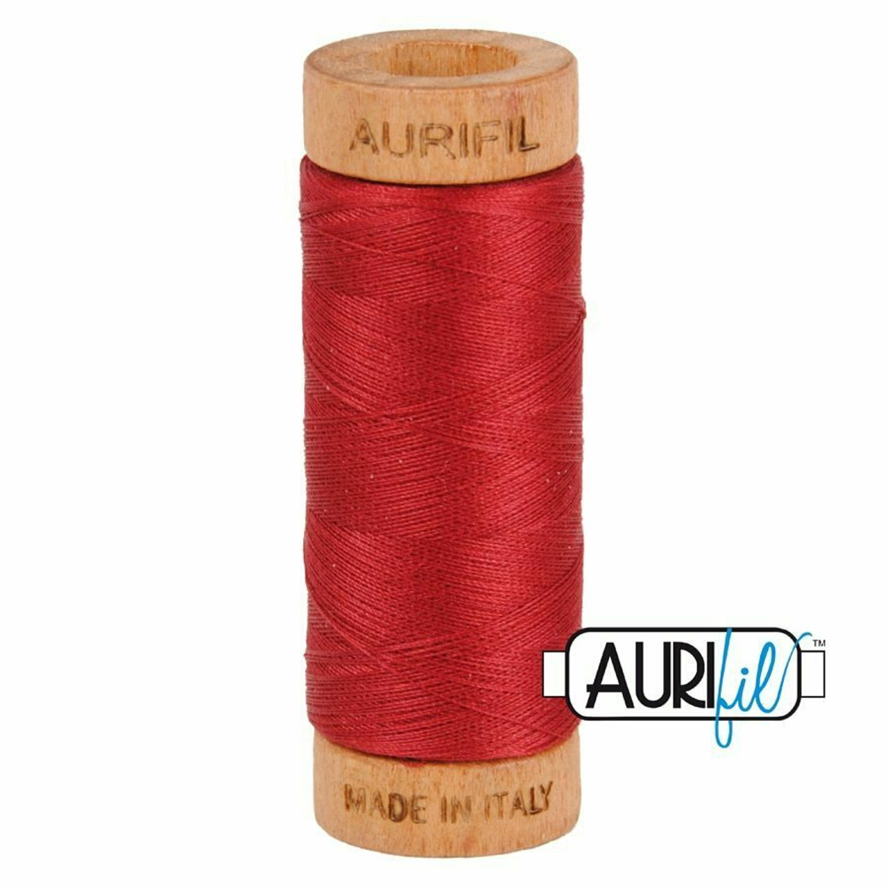 Aurifil 80wt Burgundy (1103) thread