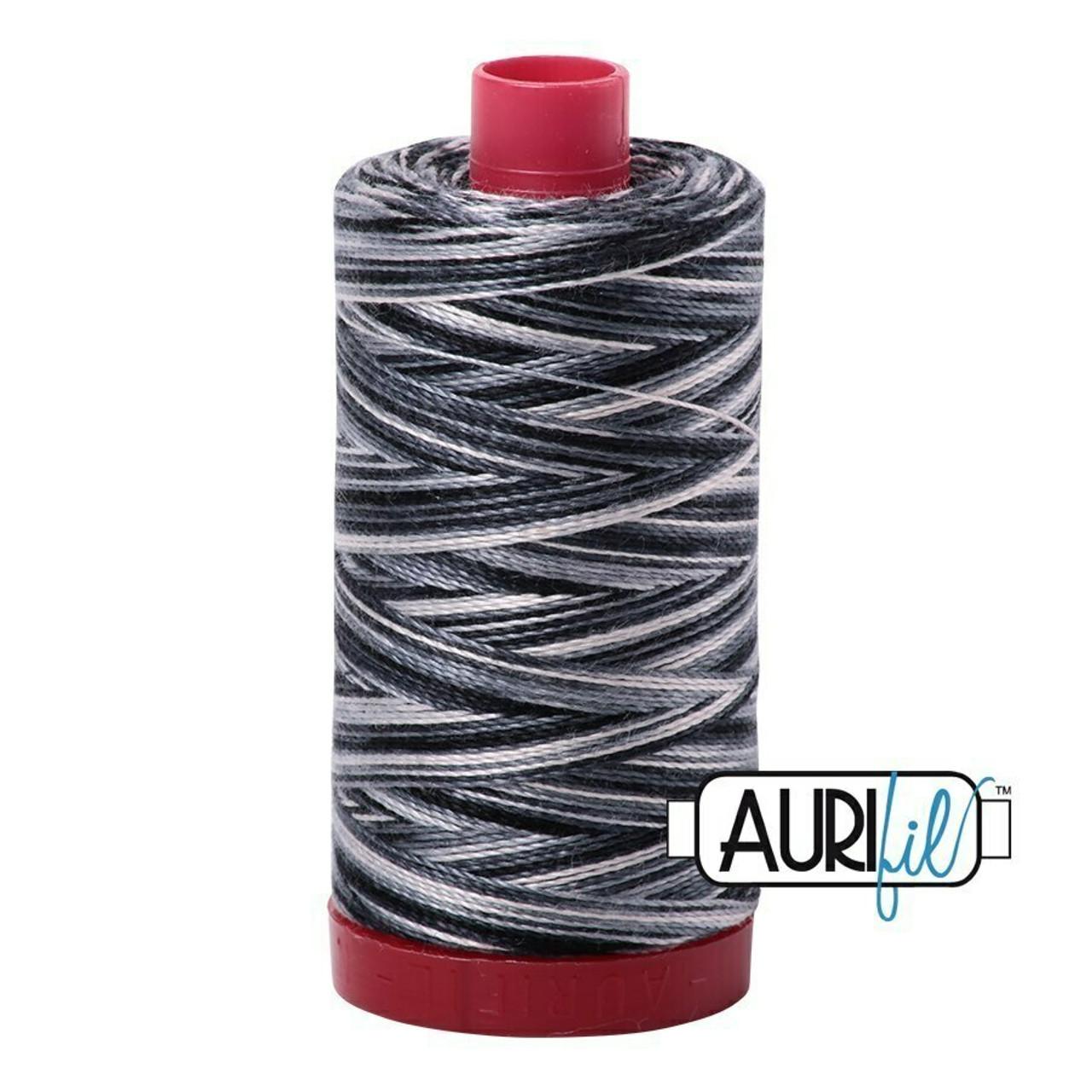Aurifil 12wt Graphite (4665) thread
