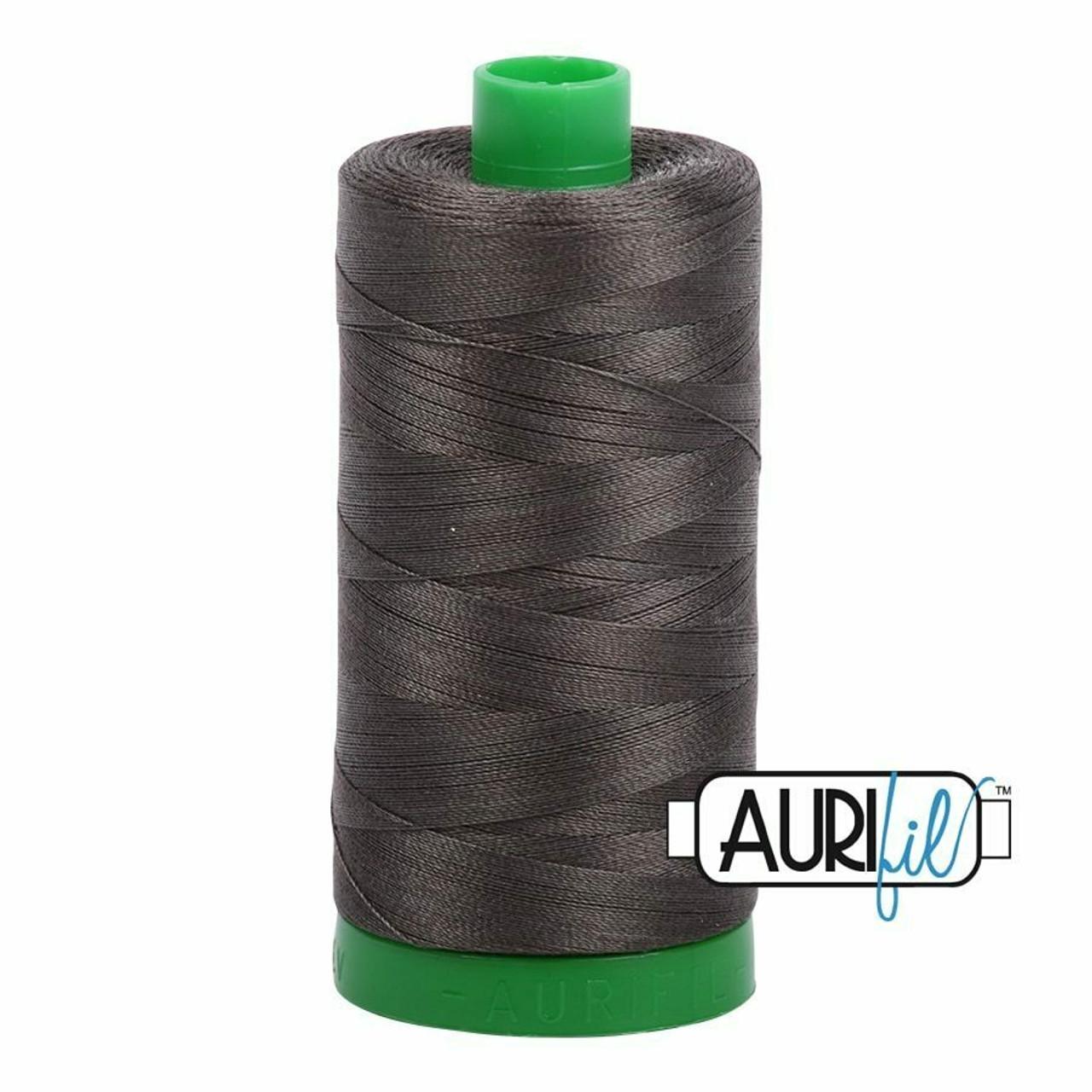 Aurifil 40wt Asphalt (5013) thread