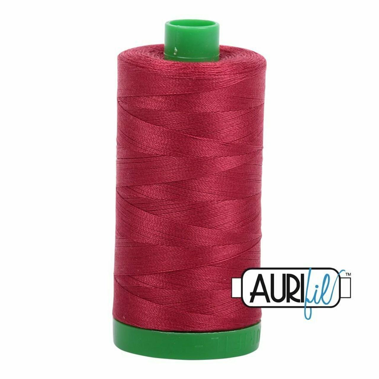 Aurifil 40wt Burgundy (1103) thread