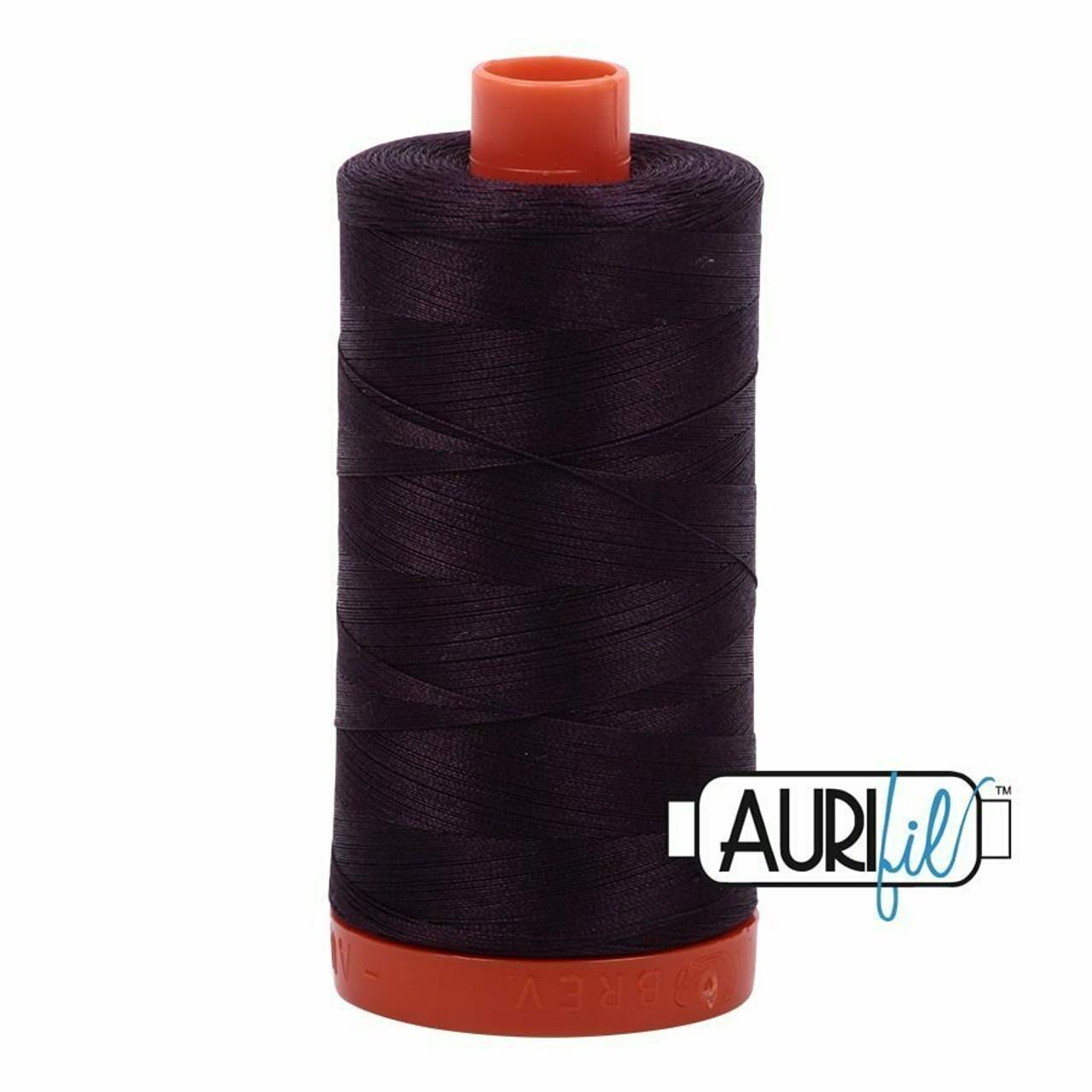 Aurifil 50wt Aubergine (2570) thread