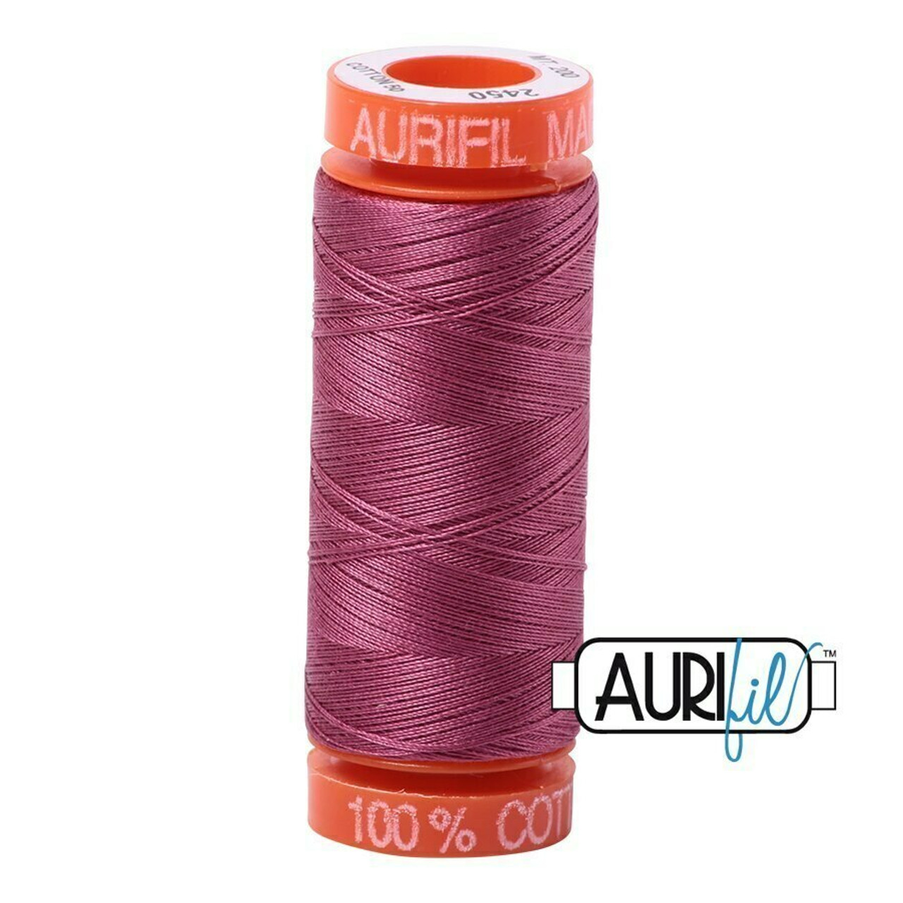 Aurifil 50wt Rose (2450) thread