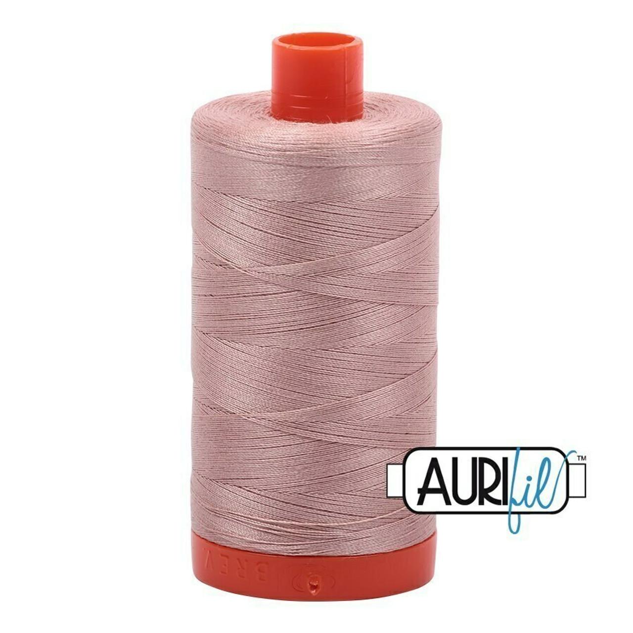 Aurifil 50wt Antique Blush (2375) thread