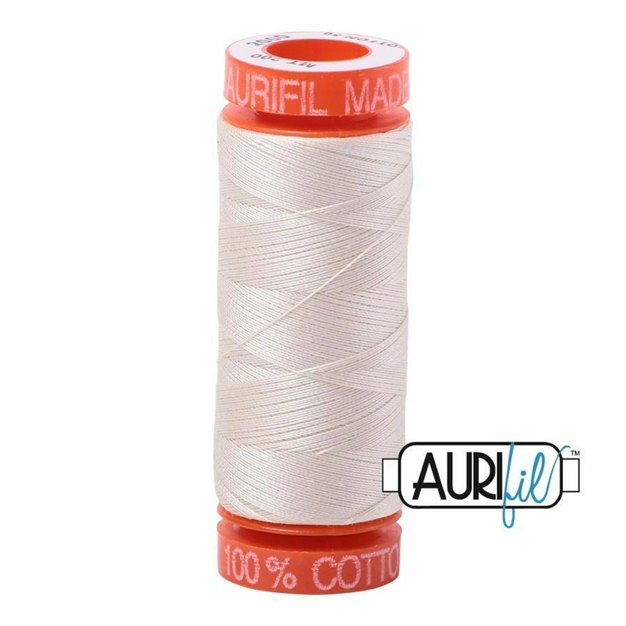 Aurifil 50wt Light Stand (2000) thread