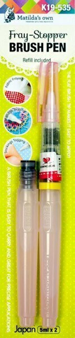Fray Stopper Brush Pen and Refill