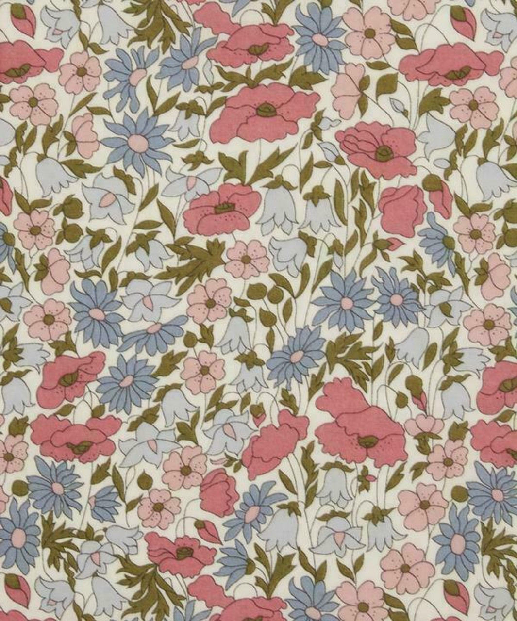 Liberty Tana Lawn : Poppy & Daisy C - Fat Sixteenth