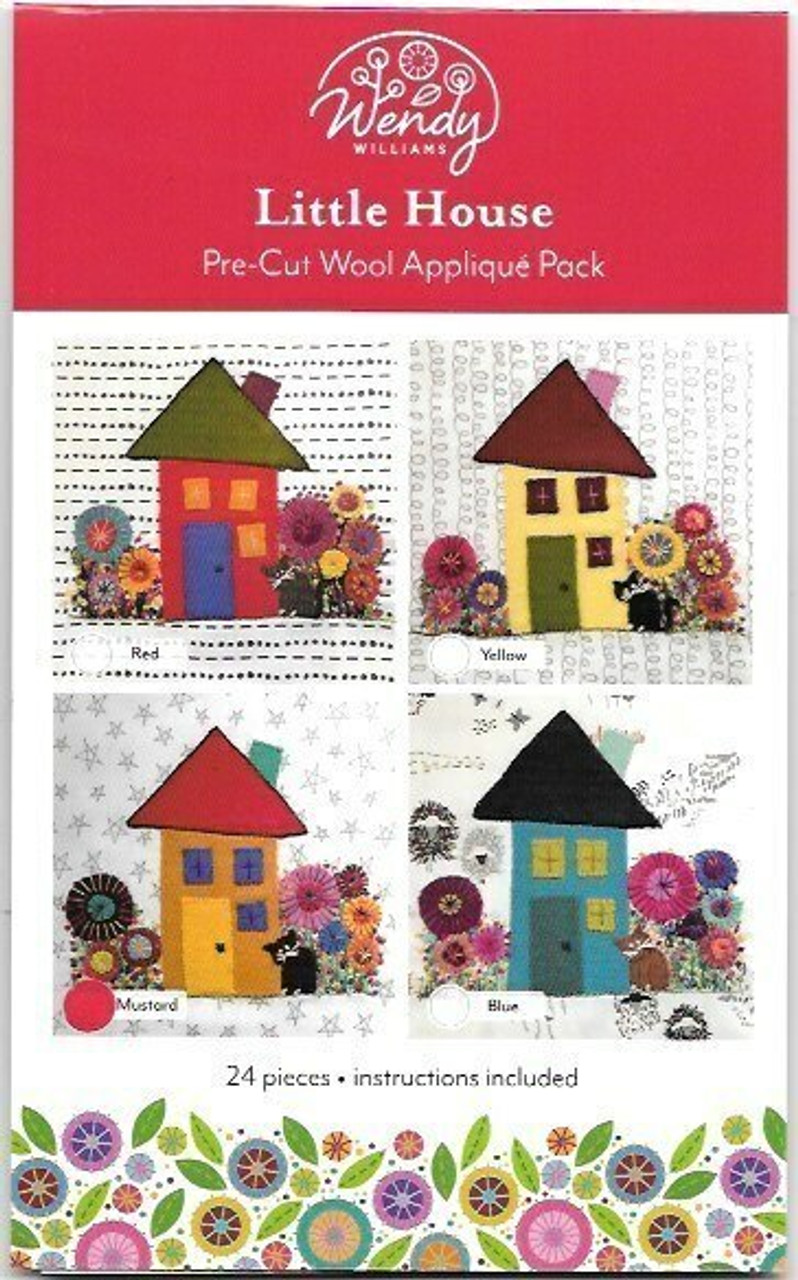 Wendy Williams Little House Pre-cut Wool Applique Pack