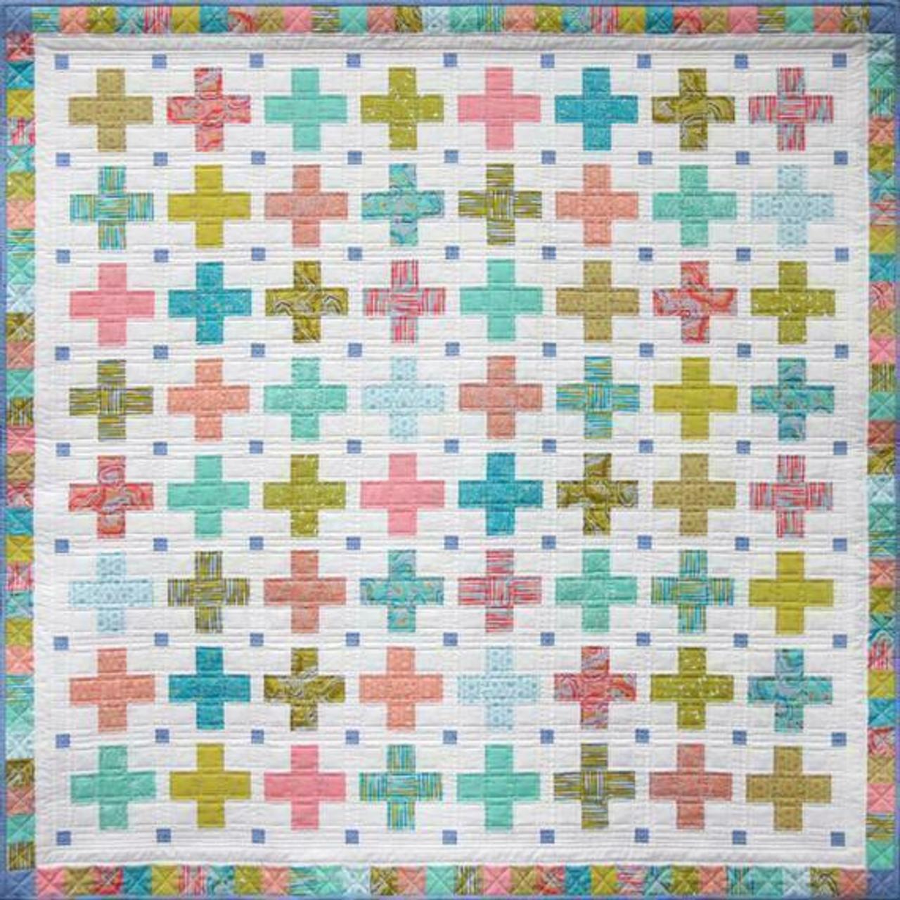 Emma Jean Jansen : Little Crosses Quilt
