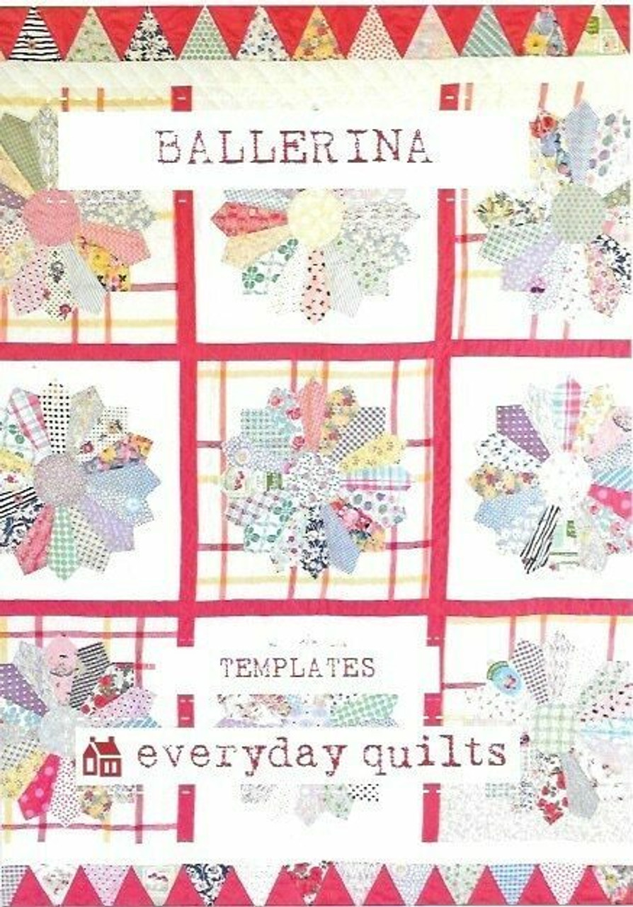 Everyday Quilts by Sandra Boyle : Ballerina Templates