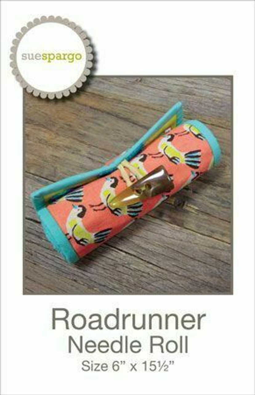 Sue Spargo : RoadRunner Needle Roll Pattern