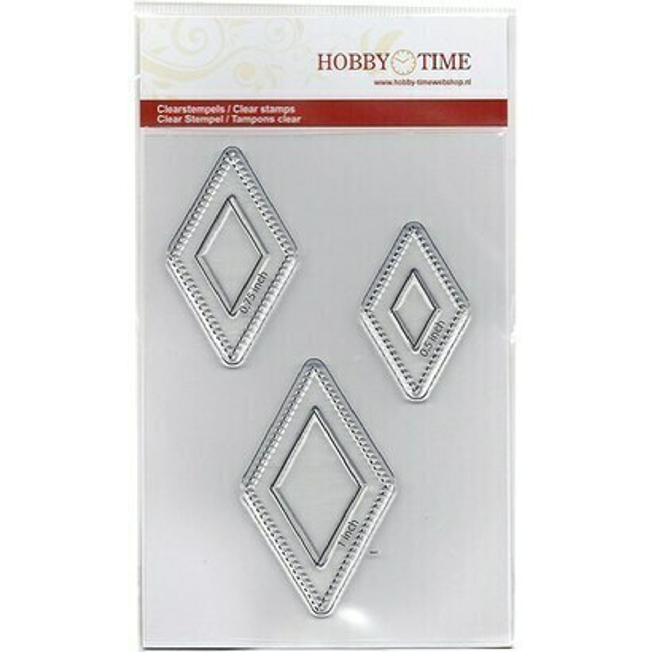 Hobby Time Six Point Star Stamp Set