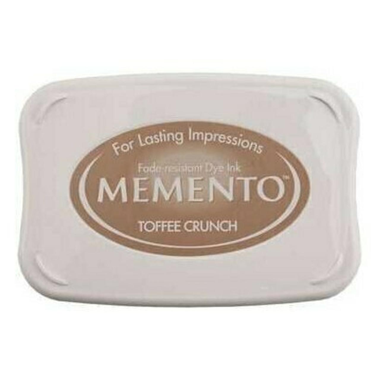 Memento Ink Pad - Toffee Crunch